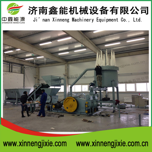 briquette machine crusher line